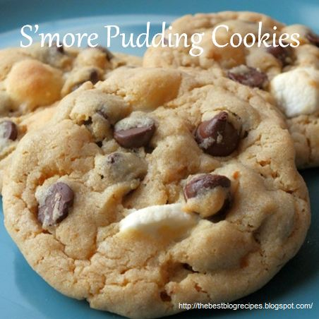 Smore Pudding Cookies by The Best Blog Recipes