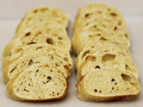 Ecce Panis Artisan Bread - sliced