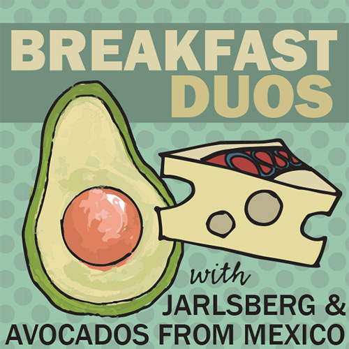 Breakfast Duos: Jarlsberg Cheese & Avocados from Mexico