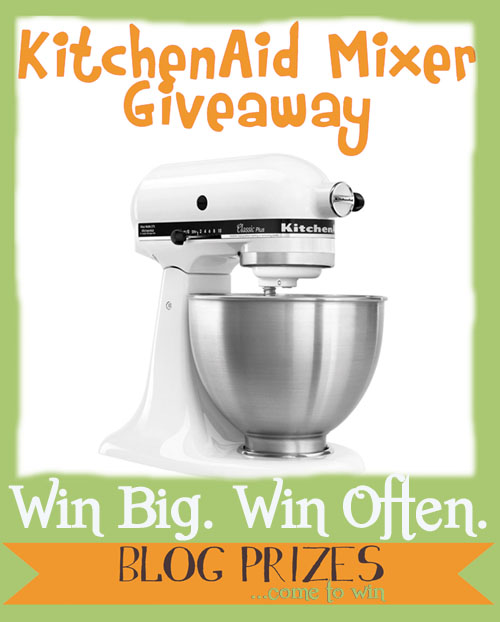 Love to cook? Enter our KitchenAid Mixer Giveaway! - Home Cooking Memories