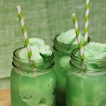 Lime Sherbet Floats { Green Recipes for St Patrick Day }