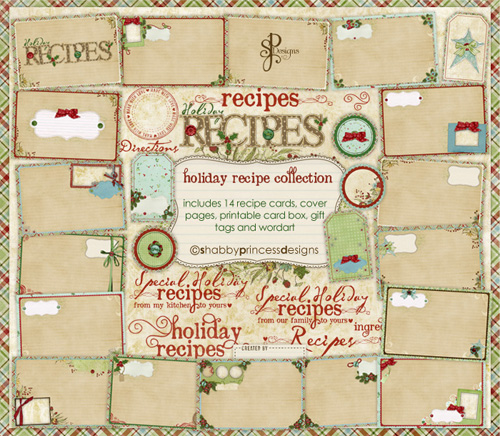 Shabby Princess Holiday Recipe Collection