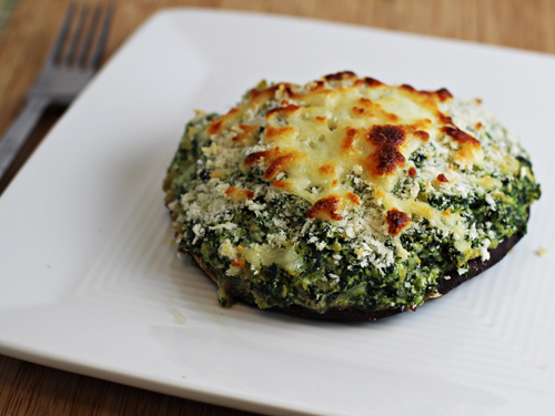 Spinach and Artichoke Stuffed Portobello Mushrooms - Home ...