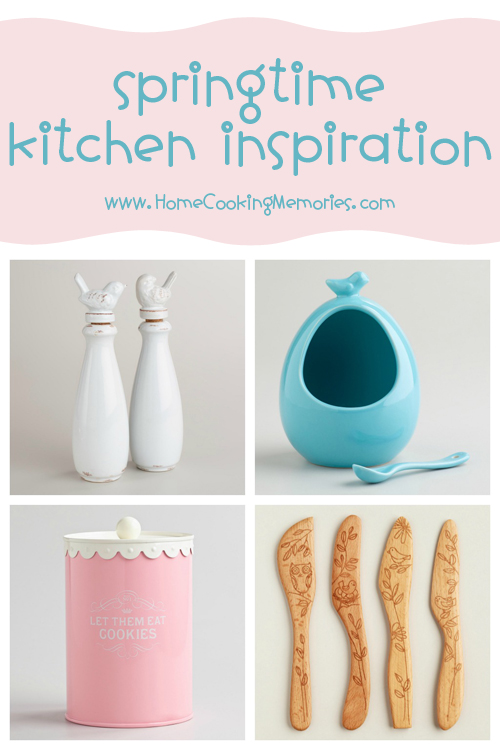 Springtime Kitchen Inspiration at World Market - Home Cooking Memories