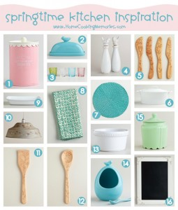 Springtime Kitchen Inspiration at World Market