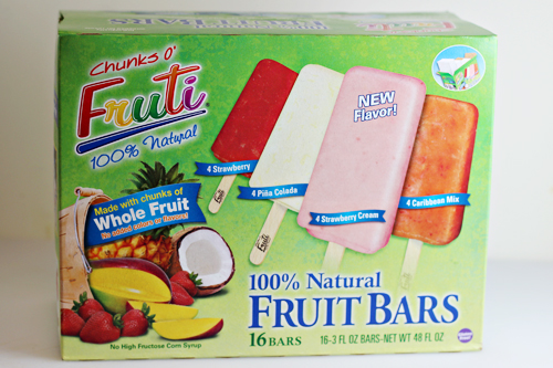 Chunks O' Fruti Fruit Bars