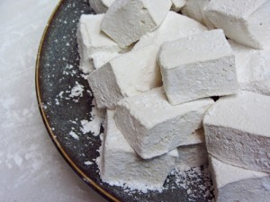 Homemade Marshmallow Recipe (made with iced coffee)