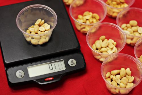 Road Trip Snacks Taste Test: Weighing