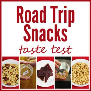 Road Trip Snacks Taste Test