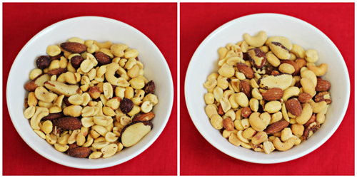Road Trip Snacks Taste Test: Mixed Nuts