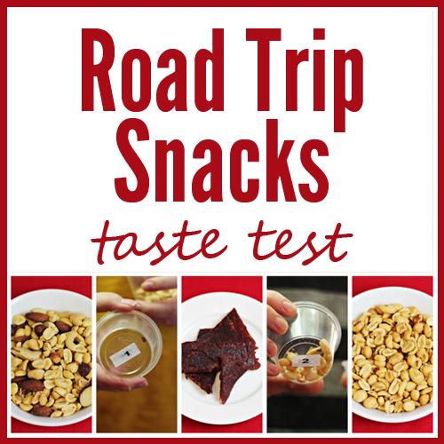 Road Trip Snacks Taste Test