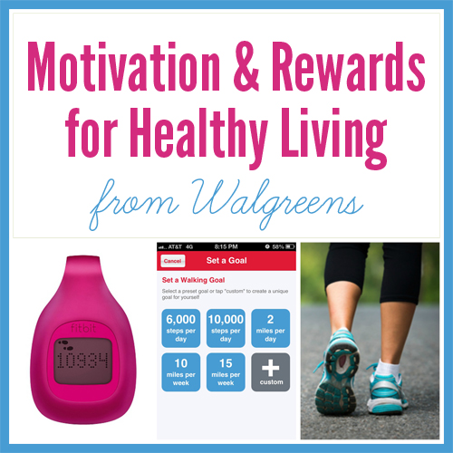 Motivations & Rewards for Healthy Living from Walgreens