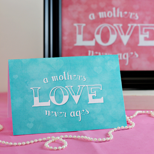 Free Printable: Mothers Day Card