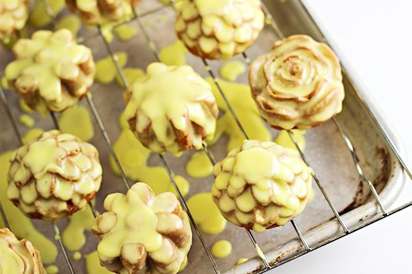 Lemon Petits Fours Recipe
