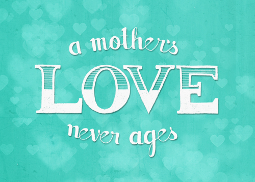 Free Printable: Mothers Day Art Print in Aqua