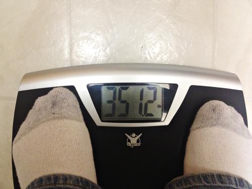 Weight May 1, 2013