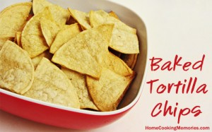 How to Make Baked Tortilla Chips