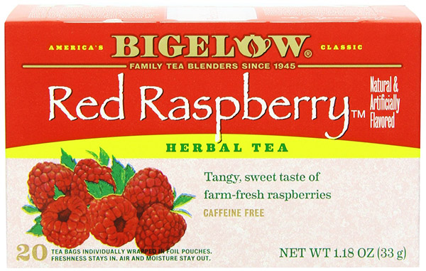 Bigelow Red Rasberry Herb Tea