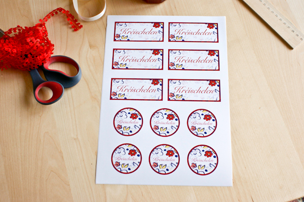 How to Make Homemade Jam Jar Labels