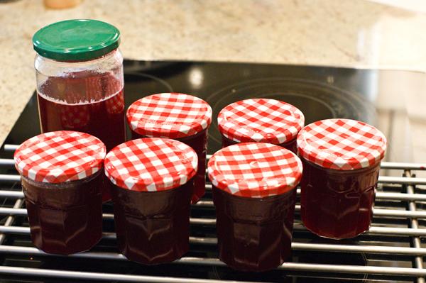 Homemade Jam Jar Labels - Red Currant Jam