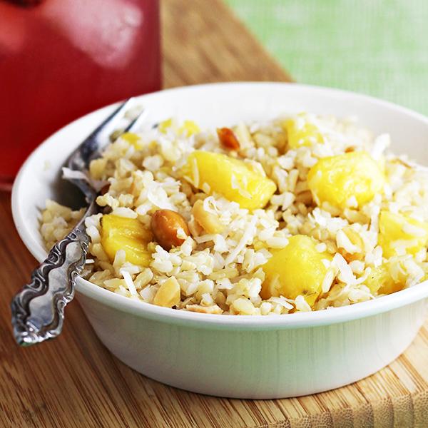 Coconut-Pineapple Rice Recipe