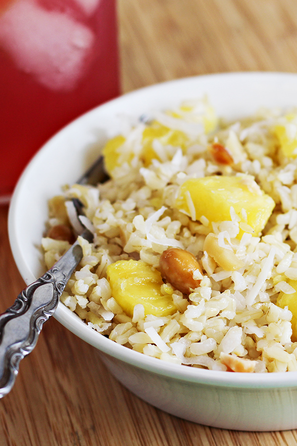 Coconut pineapple rice recipe easy side dish home cooking memories - Six alternative uses of rice at home ...