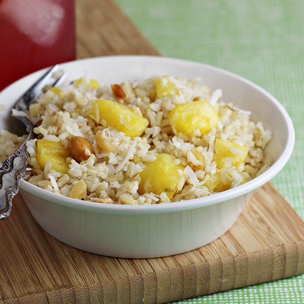 Coconut Pineapple Rice