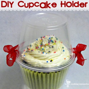 Easy DIY Cupcake Holder