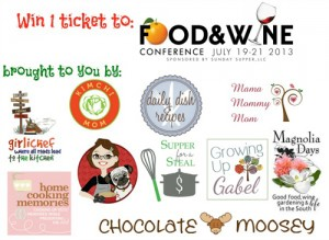 Food & Wine Conference Ticket Giveaway!