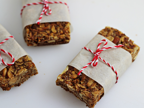 Homemade Granola Bars 5