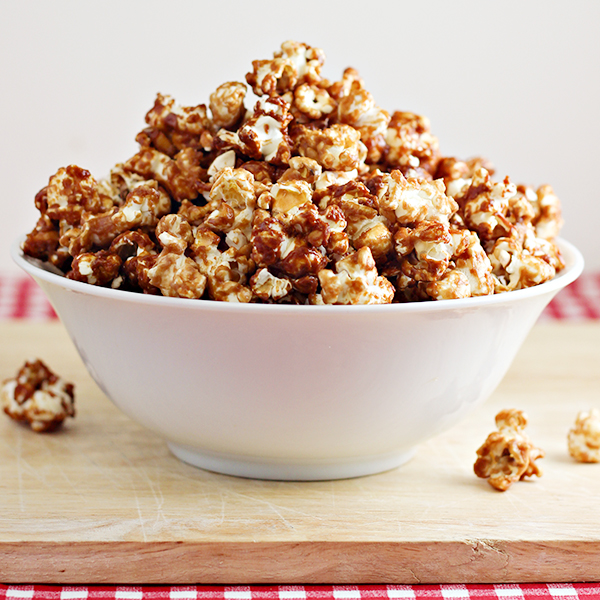 Peanut Butter and Jelly Popcorn Recipe