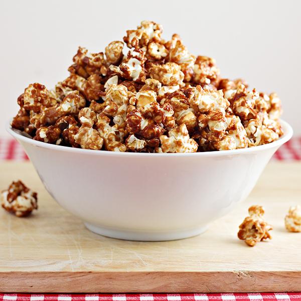 Peanut Butter and Jelly Popcorn Recipe