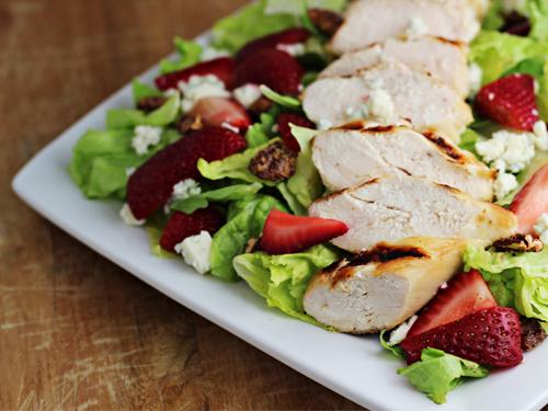 Red White Blue Dinner Salad