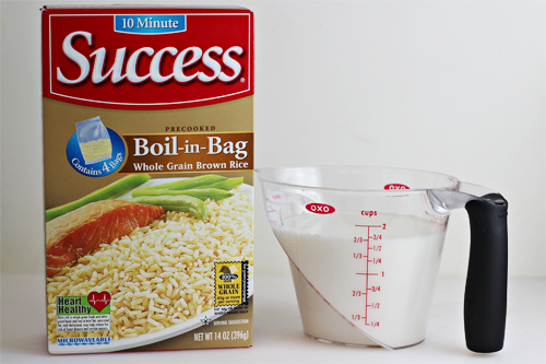 Success Whole Grain Brown Rice & Coconut Milk #SuccessRice #ad
