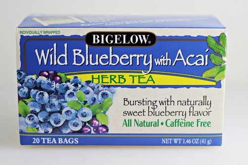 Bigelow Blueberry with Acai Herb Tea