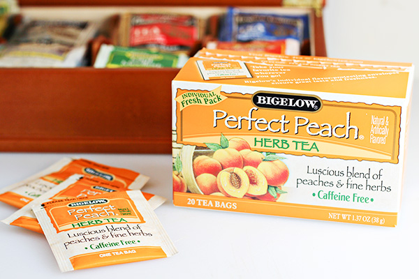 Bigelow Tea Perfect Peach Herb Tea