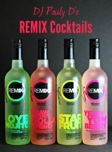 DJ Pauly D's REMIX Cocktails