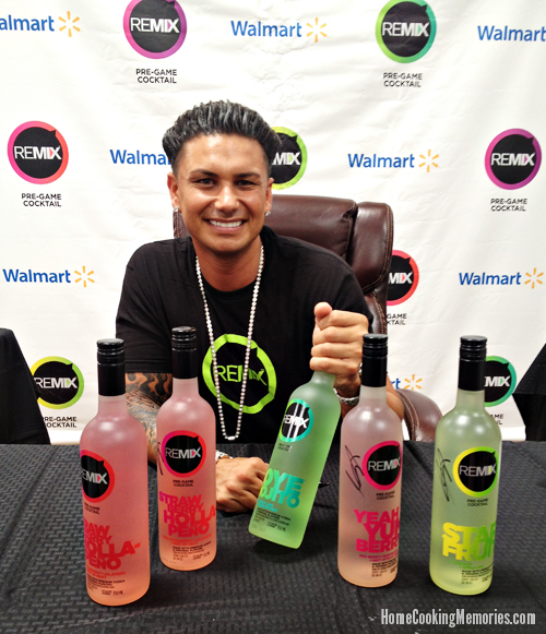 DJ Pauly D - REMIX Cocktails at Walmart