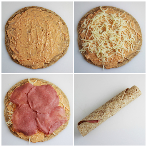 How to Make Reuben Tortilla Pinwheels