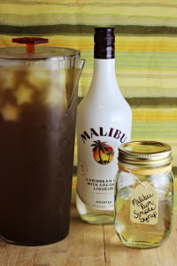 Malibu Rum Simple Syrup (great for Iced Tea)