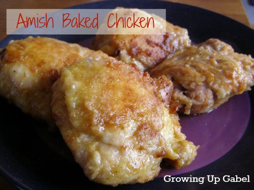 Amish Chicken from Growing Up Gabel