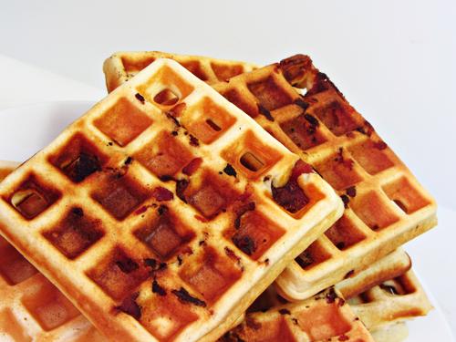 Easy Bacon Waffles