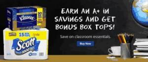 Bonus BoxTops for Education