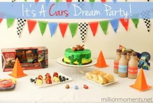 Disney Pixar Cars Dream Party