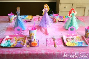 Have a Disney Princess Dream Party!