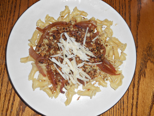 Fusilli with Caramelized Onions by Hezzi Ds Books and Cooks
