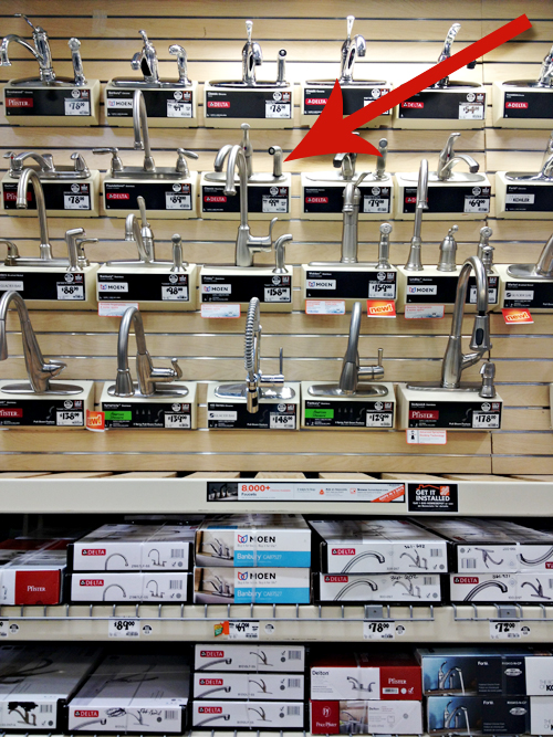 Home Depot Faucets