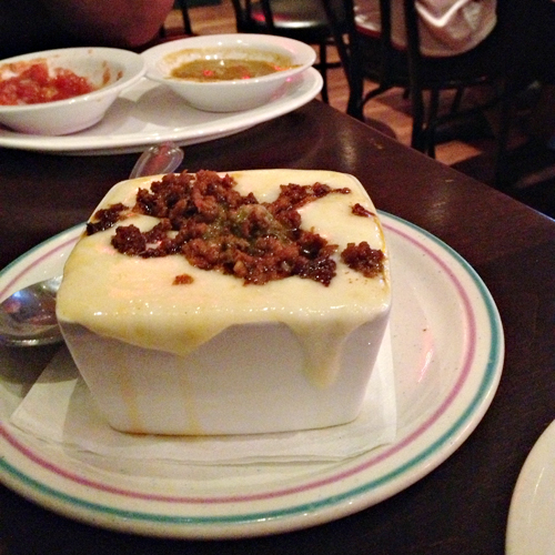 Hussongs Cantina Las Vegas - Queso Fundido