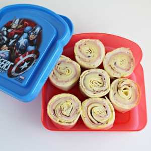 Malibu Chicken Tortilla Pinwheels
