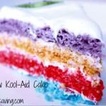 Rainbow Kool-Aid Cake